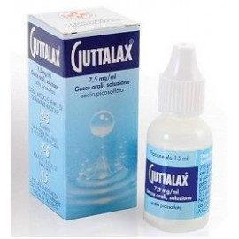 GUTTALAX ORAL DROPS 15ML 7.5MG / ML