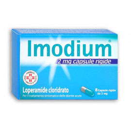 IMODIUM 2MG HARD CAPSULES FOOD SUPPLEMENT 8