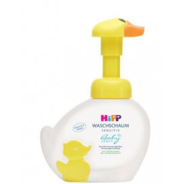 HIPP BABY BATH DUCK MOUSSE CLEANSER 250ML