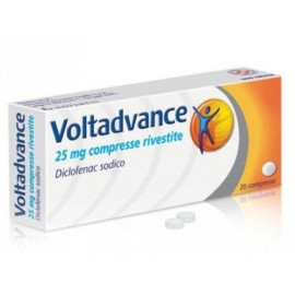 NOVARTIS VOLTADVANCE 20 COATED TABLETS FROM 25MG