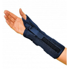 GIBAUD ORTHO WRIST ORTHOSIS THUMB BLUE LEFT MEASURE 2