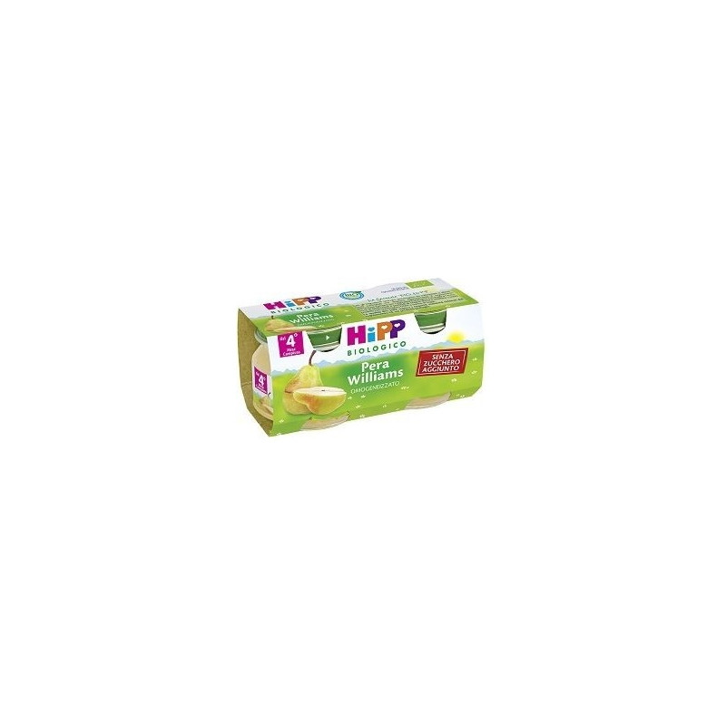 HIPP BIOLOGICO OMOGENEIZZATO PERA WILLIAMS 2X80G
