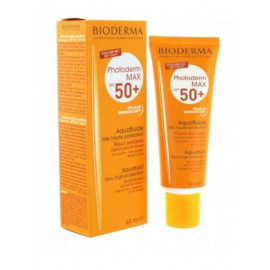 BIODERMA PHOTODERM MAX 50+ AQUAFLUID TINTED 40ML