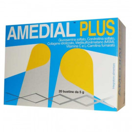 Amedial Plus Integratore Alimentare 20 Bustine da 5gr | FarmaciaRisparmio.it