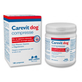 CAREVIT DOG MANGIME 100CPR