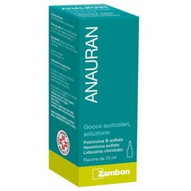 ANAURAN DROPS EARPHONES BOTTLE 25ML